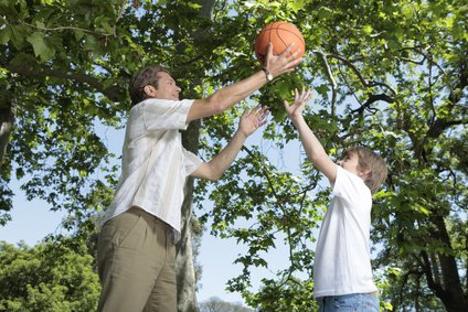 Sharing physical activities helps both adults and children.