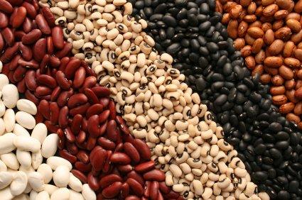 Dried beans.