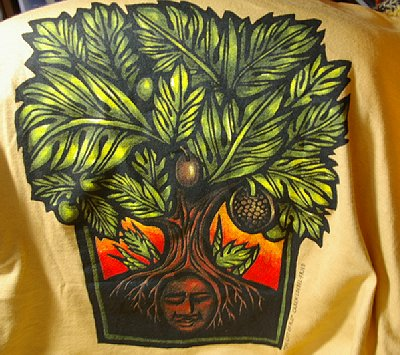 Breadfruit Tee from the festival.