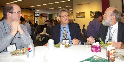 Peter Matthaei, Dr Balz Frei, and Dr Patrick Finney.