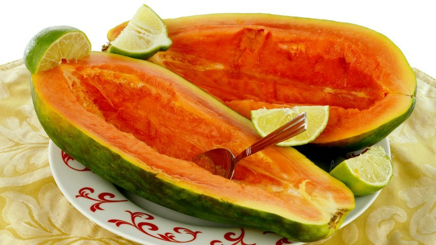 Papaya nutrition. benefits papaya, papaya superfood, papaya back pain, nutritional benefits of papaya, Healthy Aging Healthy Living Article.