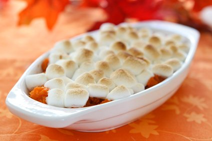 sweet potato and marshmallow casserole.