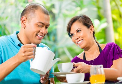 Tea drinking is a social activity that can be healthful.