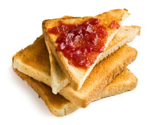 Toast and lots of jam.