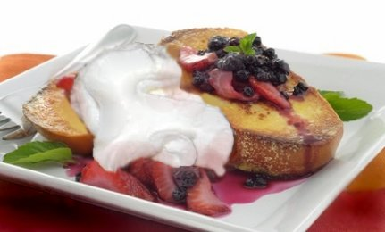 Yogurt French Toast.